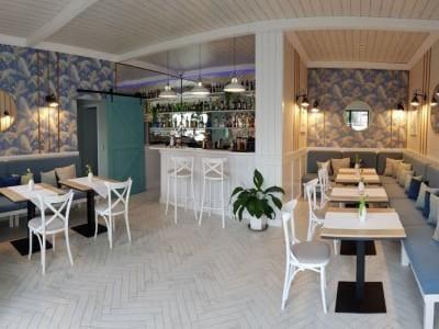 wnętrze Restauracji Laura